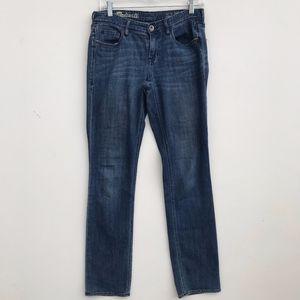 Madewell Rail Straight Jeans 28x32 #234